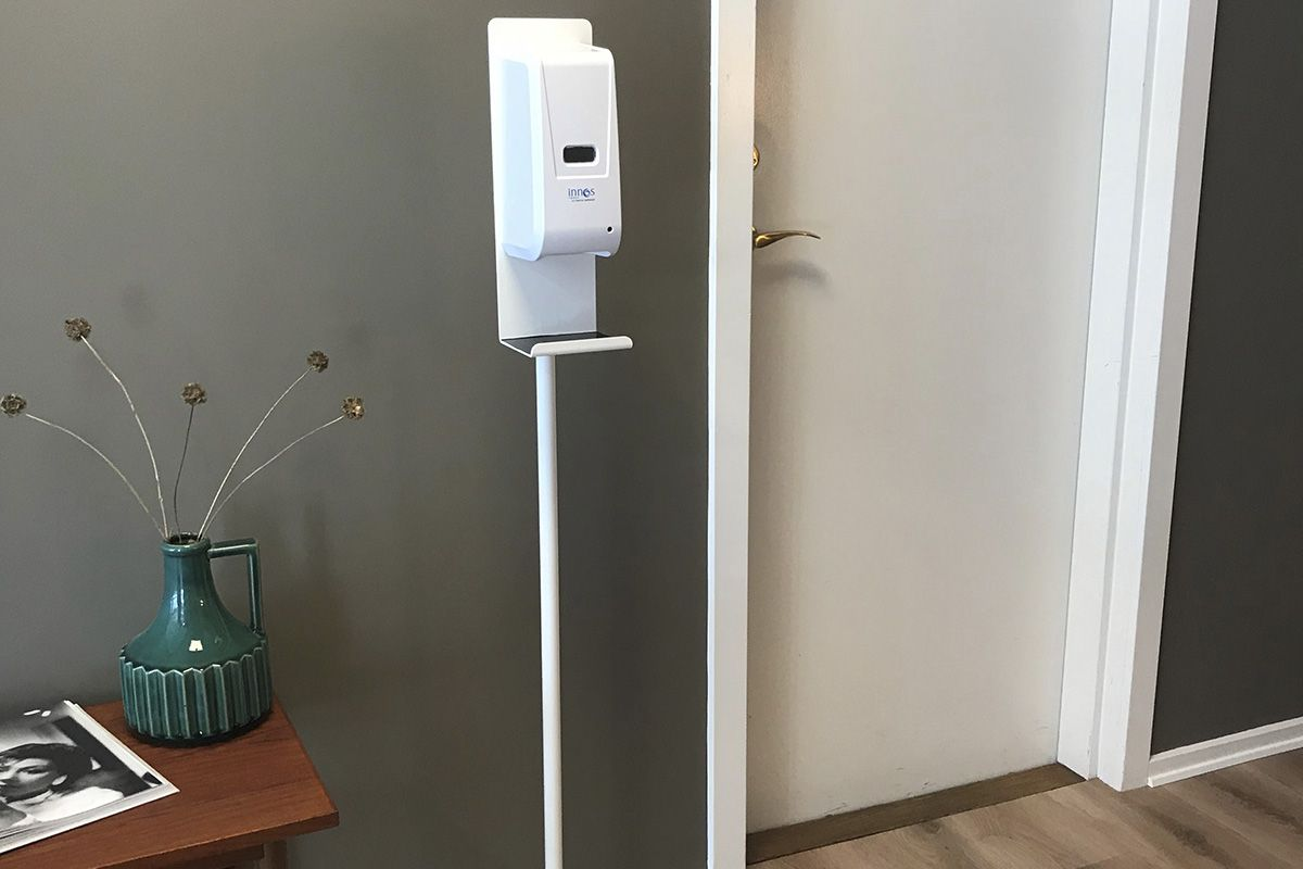 Innos automatisk dispenser på stander