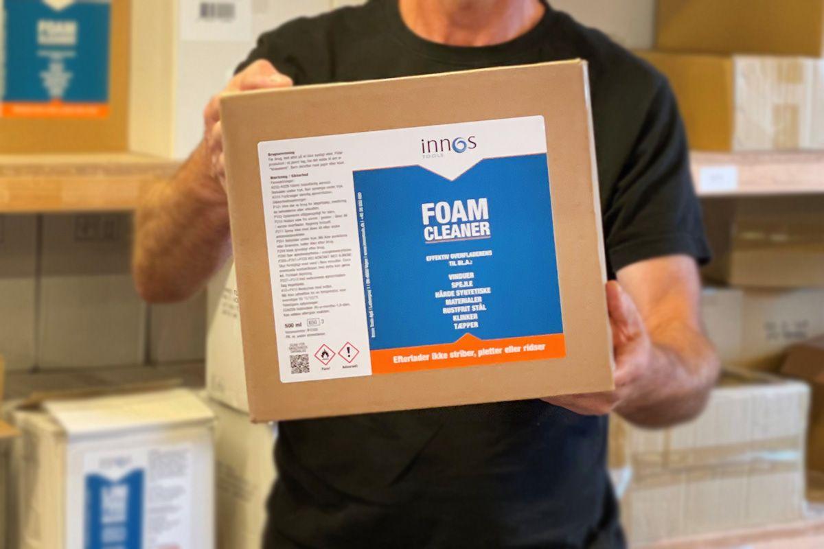Innos foam cleaner på lageret - levering direkte fra producent
