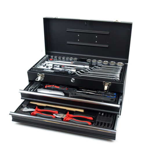 Værktøjskuffert, sort