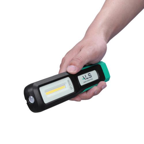 Håndlampe med ladestation 500 lumen