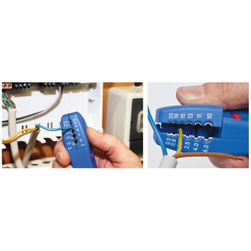 Automatisk ledningsafisoleringsværktøj